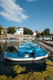 Fishermans Wharf in the Bulgarian town of Sozopol Stock Image