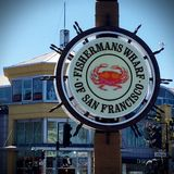 Fisherman's Wharf of San Francisco Stock Photography