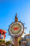 Fisherman`s Wharf sign Stock Images