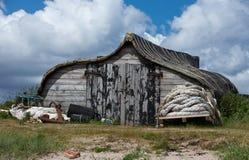 Fisherman shack Stock Photography