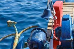 Fisherman ship prow Stock Photos