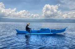 The Fisherman Royalty Free Stock Photos
