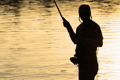 Fisherman Royalty Free Stock Images