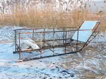 Fisherman sled Royalty Free Stock Photography