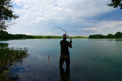 Fisherman stock photography