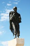 Fisherman statue Royalty Free Stock Images