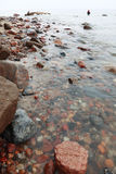Fisherman Stones in sea water autumn Stock Images