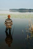 Fisherman, summer, travel Royalty Free Stock Photography