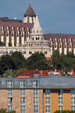 Fisherman tower and buildings Budapest Royalty Free Stock Photos