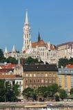 Fisherman towers Budapest landmark Royalty Free Stock Image
