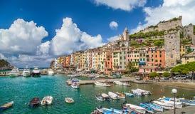 Fisherman town of Portovenere, Liguria, Italy Royalty Free Stock Photos