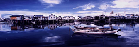 Fisherman village Stock Image