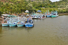 Fisherman village. Royalty Free Stock Photo