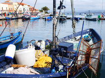 Fisherman village Stock Images