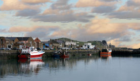 Fisherman village in  ireland Stock Photography