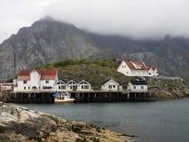 Fisherman village, Lofoten Royalty Free Stock Photos