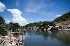 Fisherman village Royalty Free Stock Photo