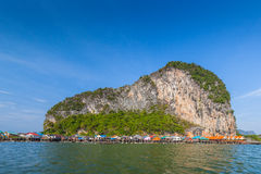 Fisherman village at Panyee island Stock Photography