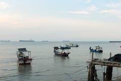 Fisherman village Stock Image