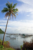 Fisherman village in south of Thailand Stock Photography