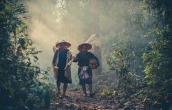 Fisherman Walking Stock Images
