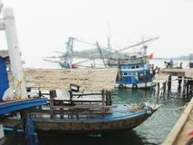Fisherman wharf Stock Photography