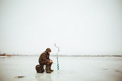 Fisherman. Royalty Free Stock Photography