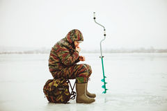 Fisherman. Royalty Free Stock Photo