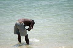 Fisherman after work, Stone Town, Zanzibar Royalty Free Stock Photo