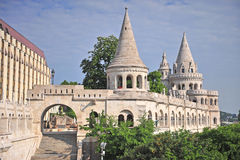 Fisherman's bastion in Budapest city Royalty Free Stock Photography