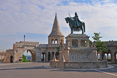 Fisherman's bastion with the nice morning light Stock Photo