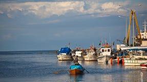 Fisherman at Yumurtalik Stock Image