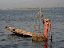 fisherman2 Zdjęcia Stock
