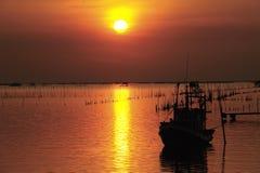 Fishermand boat Royalty Free Stock Photos