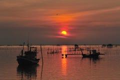Fishermand boat Royalty Free Stock Photo