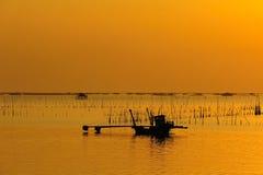 Fishermand boat Stock Photo