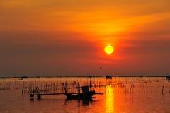 Fishermand boat Royalty Free Stock Image