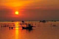 Fishermand boat Stock Photography