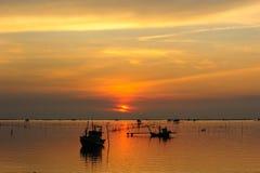 Fishermand boat Royalty Free Stock Photography