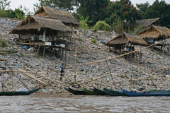 fishermans村庄 免版税图库摄影