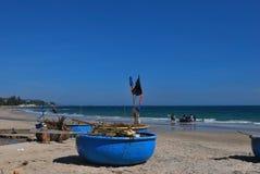 fishermans шлюпки корзины Стоковая Фотография