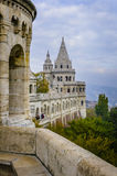 Fishermans Bastian in Budapest, Ungarn Stockbild