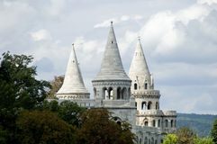 Fishermans Bastion Stock Photography