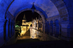 Fishermans bastion in Budapest Royalty Free Stock Images