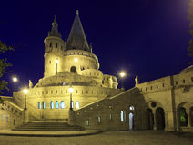 Fishermans bastion Budapest in Hungary Royalty Free Stock Photo