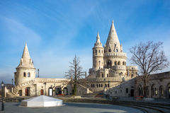 Fisherman's Bastion in Budapest Stock Photos