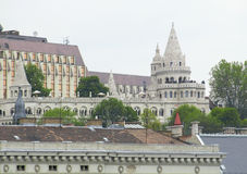 Fishermans Bastion in Budapest Stock Images