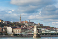 Fishermans Bastion in Budapest Stock Photography