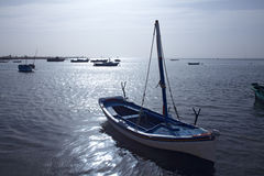 Fishermans boats Royalty Free Stock Image