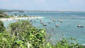 Fishermans-Bucht Sri Lanka stock video footage